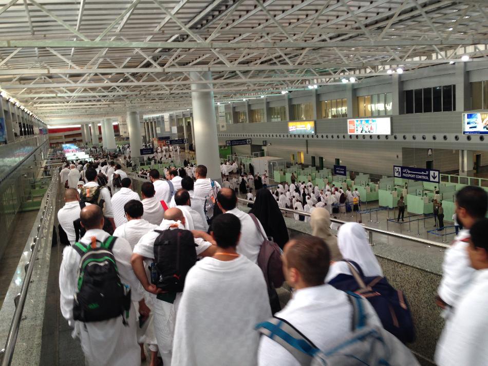 Jours 1 et 2 : Uckange-Paris-Amman-Jeddah et Omra