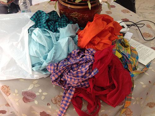 foulards groupe hajj