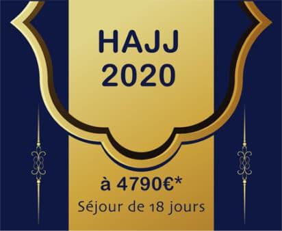Nos séjours Omra 2020 & Hajj
