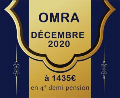 Omra Décembre 2020 (durant les vacances de fin d'année)