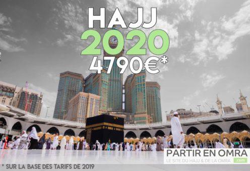 Inscription pour le Hajj 2019