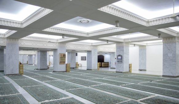 I'tikaf au Haram (retraite spirituelle) durant le mois de Ramadan 2019