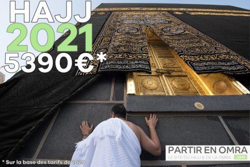 Hajj 2021 économique à 5390€ (*)