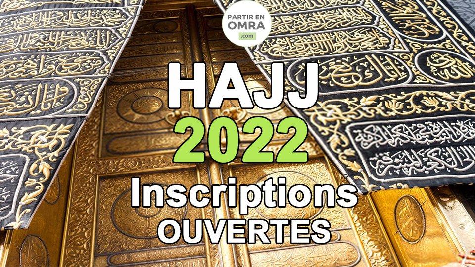 Hajj 2022 économique à 5390€ (*)